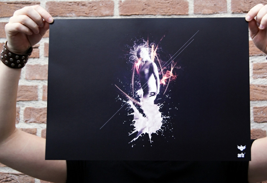 ARTR poster artwork print