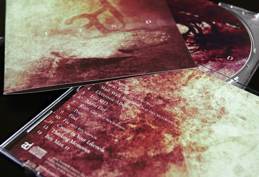 Andrew Danso cd packaging design