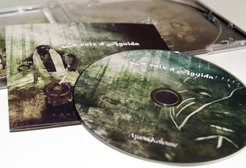 Ayaovi Kokousse cd packaging design