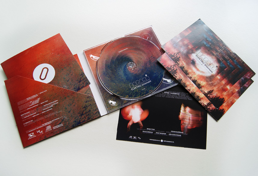 Baraná cd packaging design