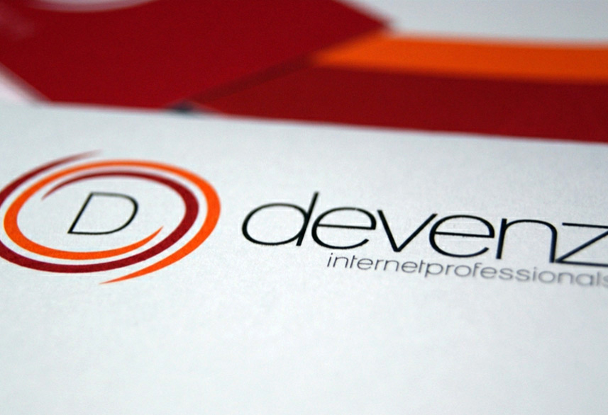 Devenz corporate identity design