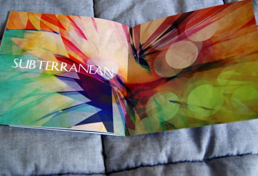 Identity magazine design artwork