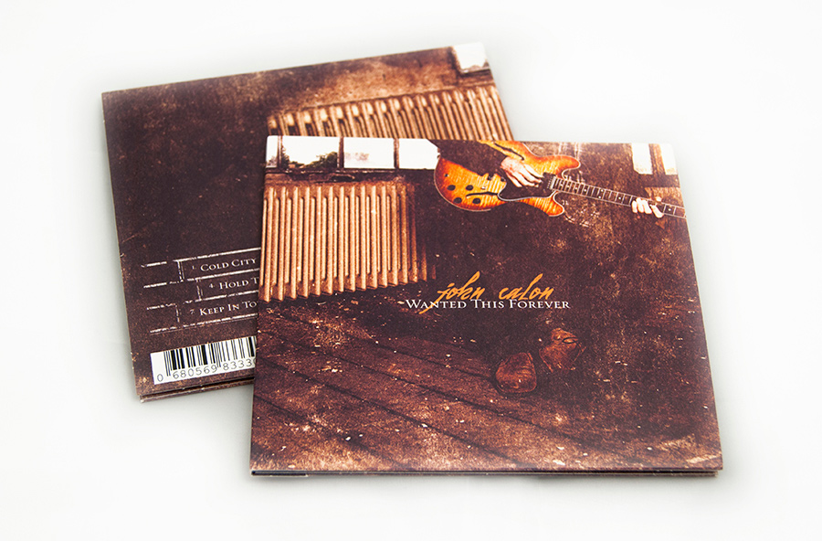 John Calon cd packaging design