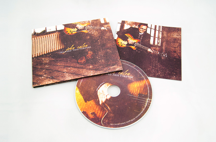 John Calon digipack cd packaging