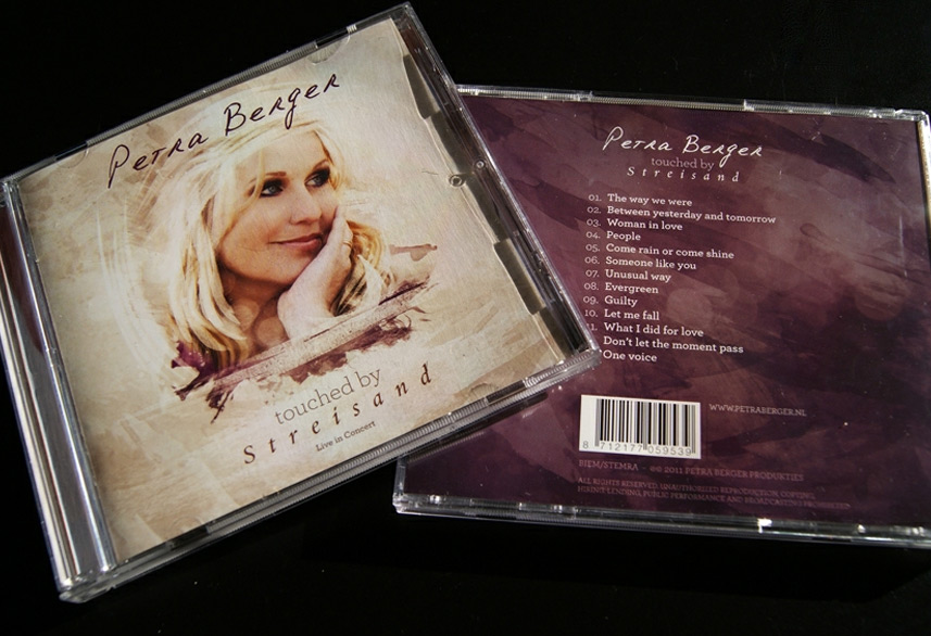 Petra Berger cd packaging design