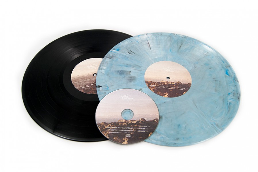 Riders of the Universe vinyl record design
