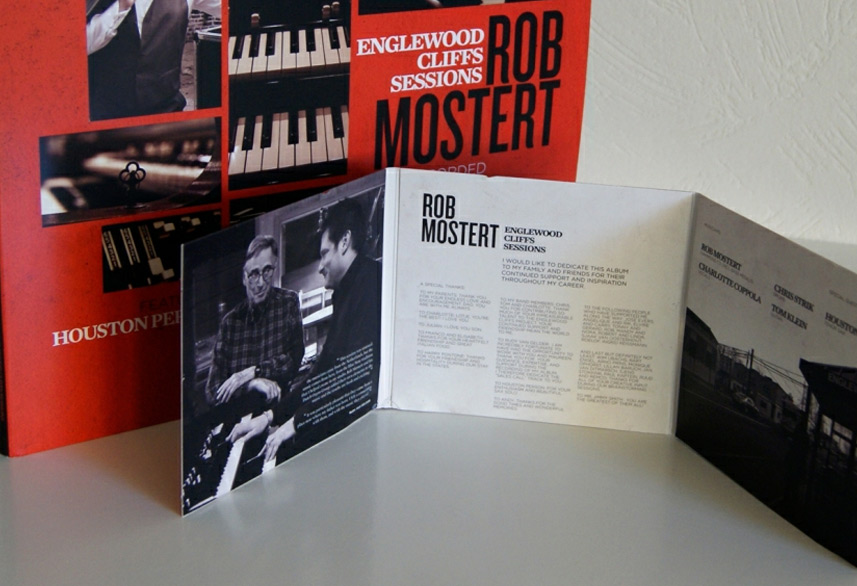Rob Mostert cd packaging design