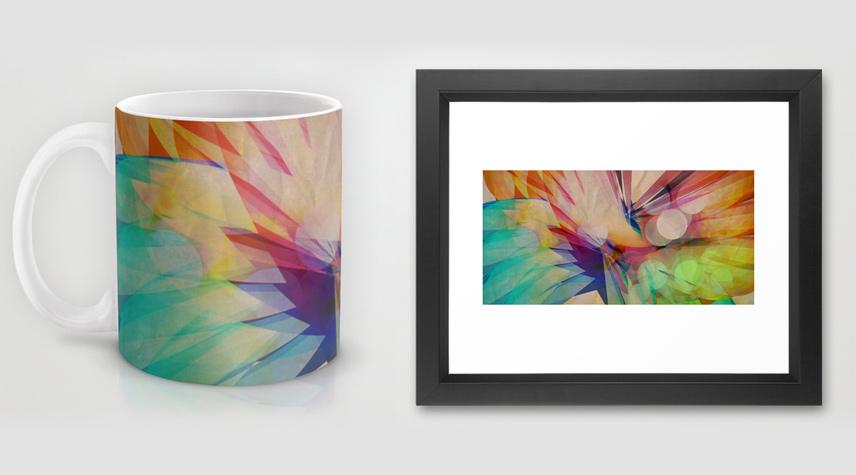 Subterranean mug and fine art prints
