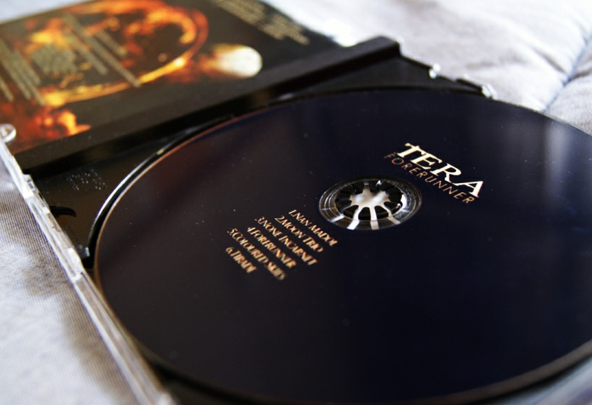 Tera Forerunner cd packaging design