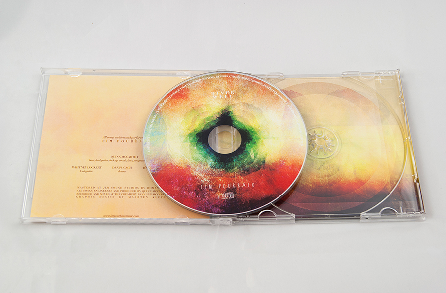 Tim Pourbaix jewel case cd design