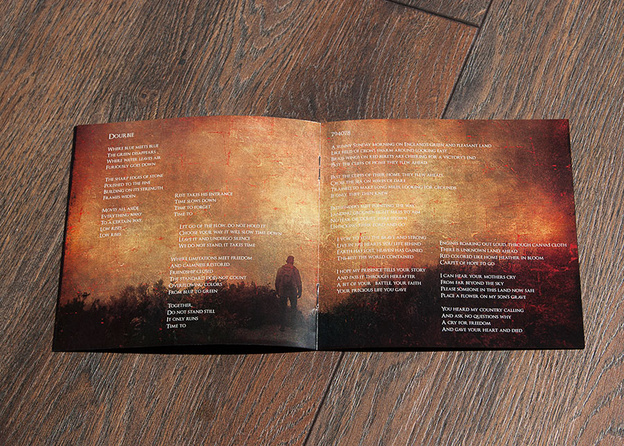 Triangle cd booklet design
