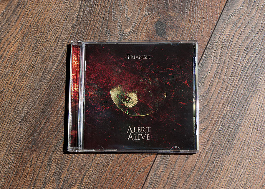 Triangle cd packaging design