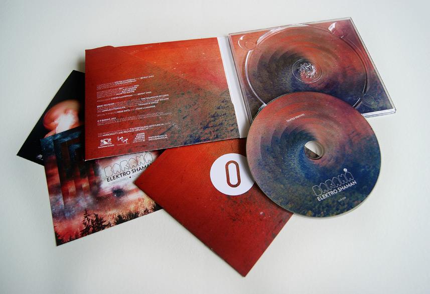Baraná cd design