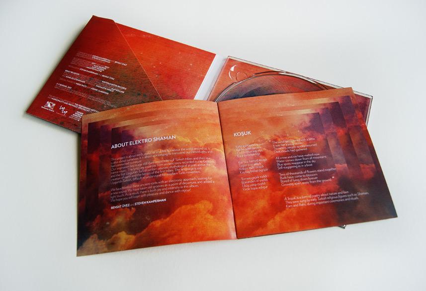 Baraná cd booklet design