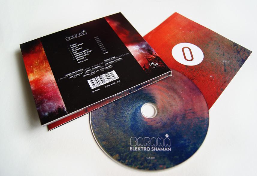 Baraná disc print design