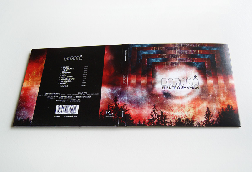 Baraná cd packaging design