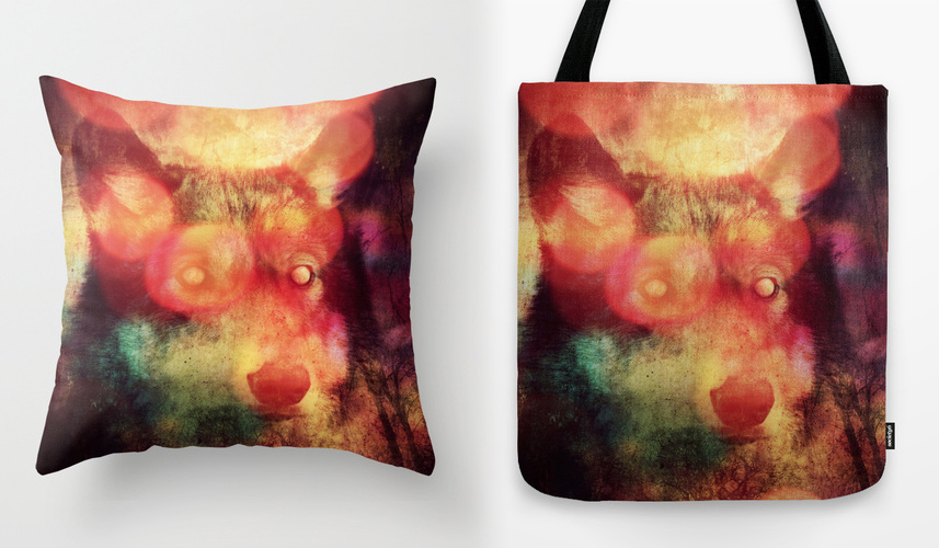 Crossing the Rubicon tote bag and throw pillow