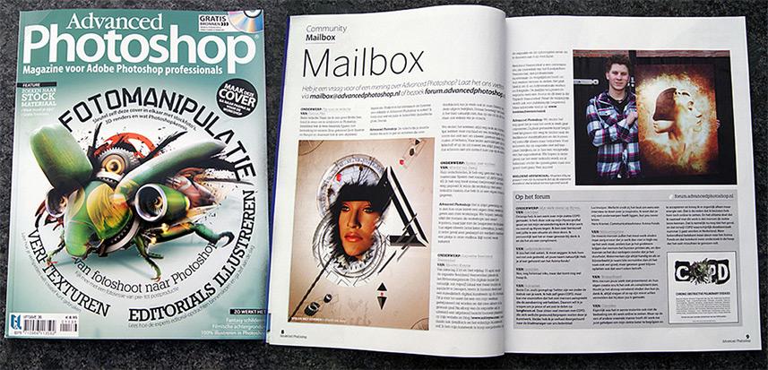 Delusion magazine promo