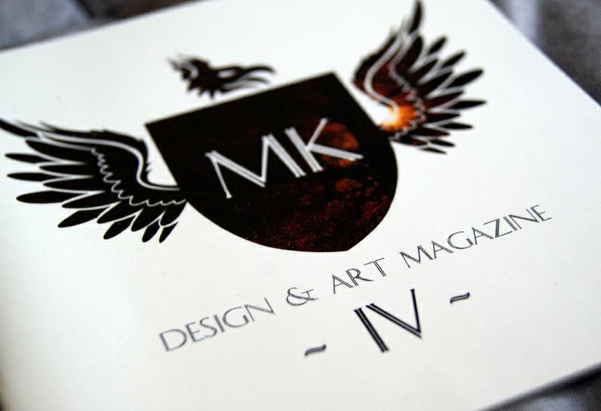 Identity magazine design front