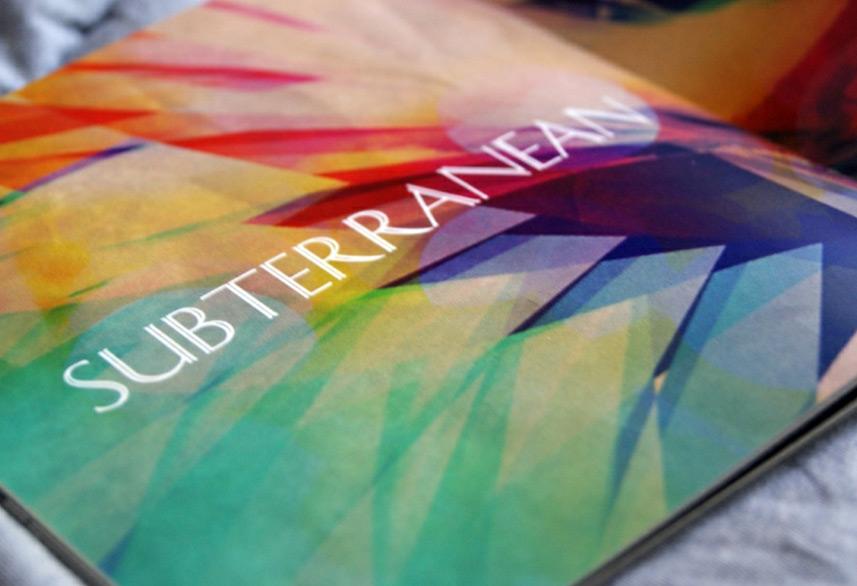 Identity magazine design artwork detail