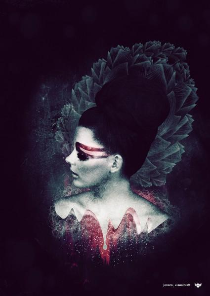 Perpetual Queen poster print