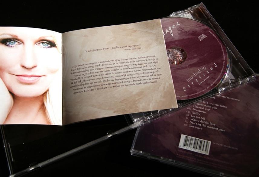 Petra Berger cd booklet design