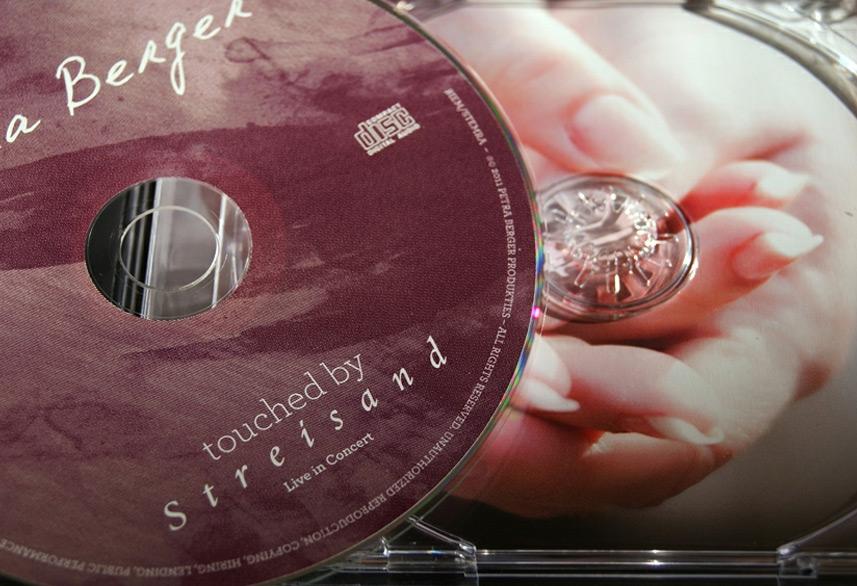 Petra Berger cd packaging design