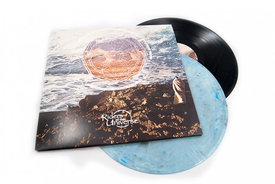 Riders of the Universe vinyl sleeve design