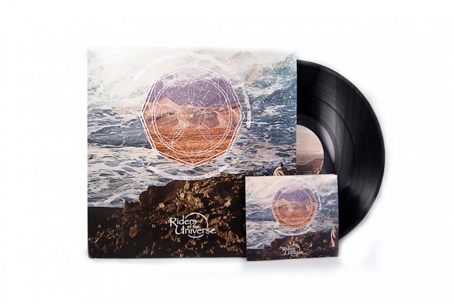 Riders of the Universe vinyl cd design