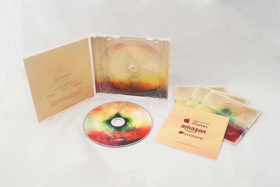River Well cd packaging design