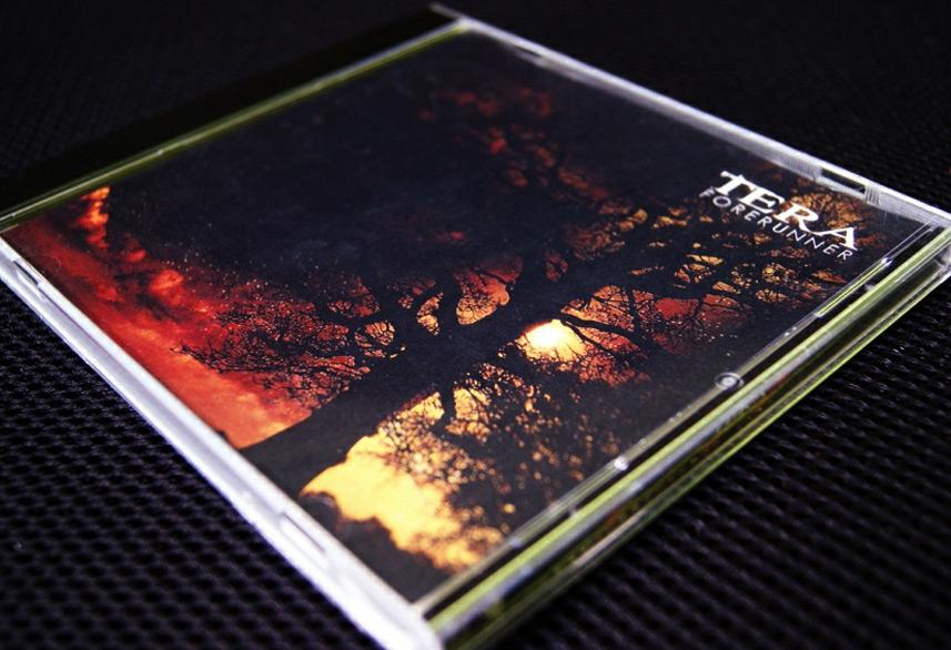 Tera Forerunner cd packaging design