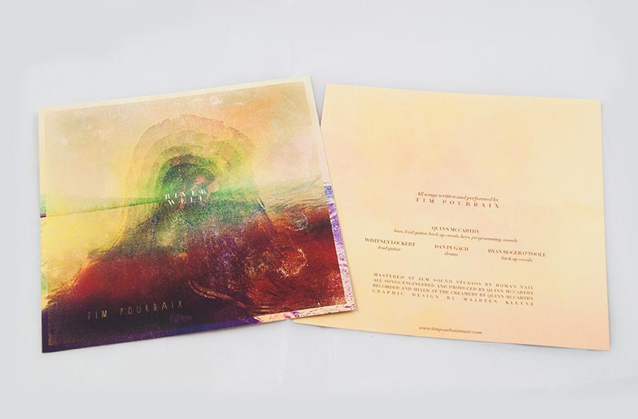 Tim Pourbaix cd cover design