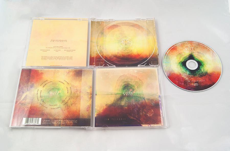 Tim Pourbaix cd sleeve design