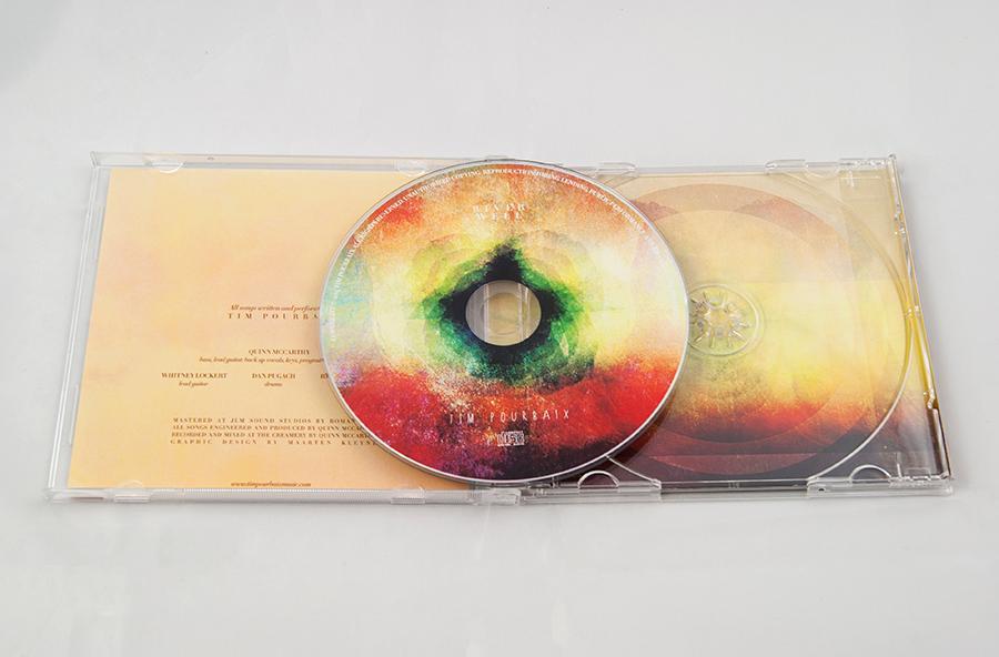 Tim Pourbaix jewel case cd design