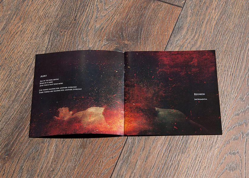 Triangle cd booklet design