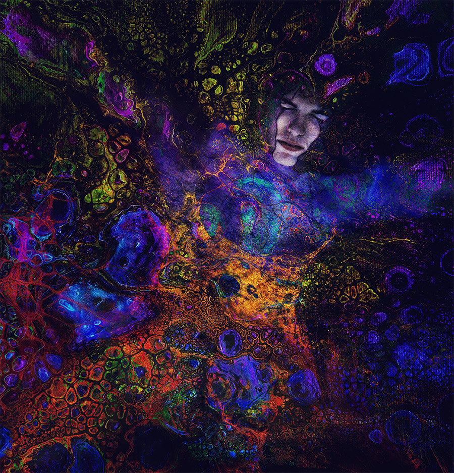 Untitled self-expressive artwork