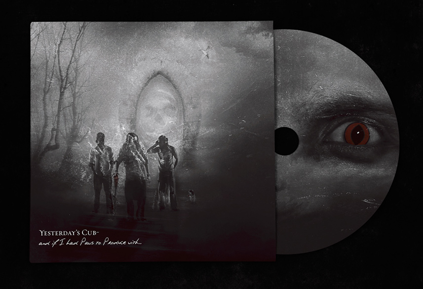 Yesterday's Cub cd packaging design